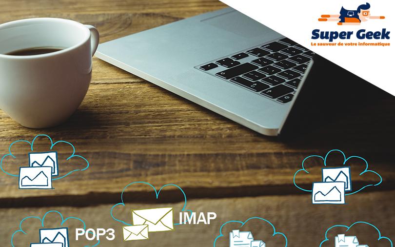 Les différents modes de connexion d'un client email