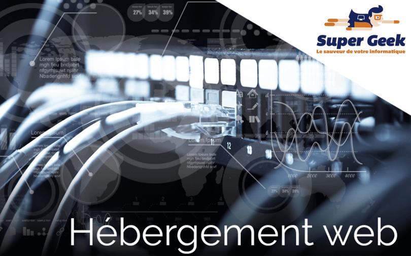 Illustration d'hébergement web