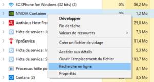 Optimiser Windows 10 - recherche en ligne