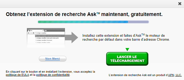 Installation de ASK