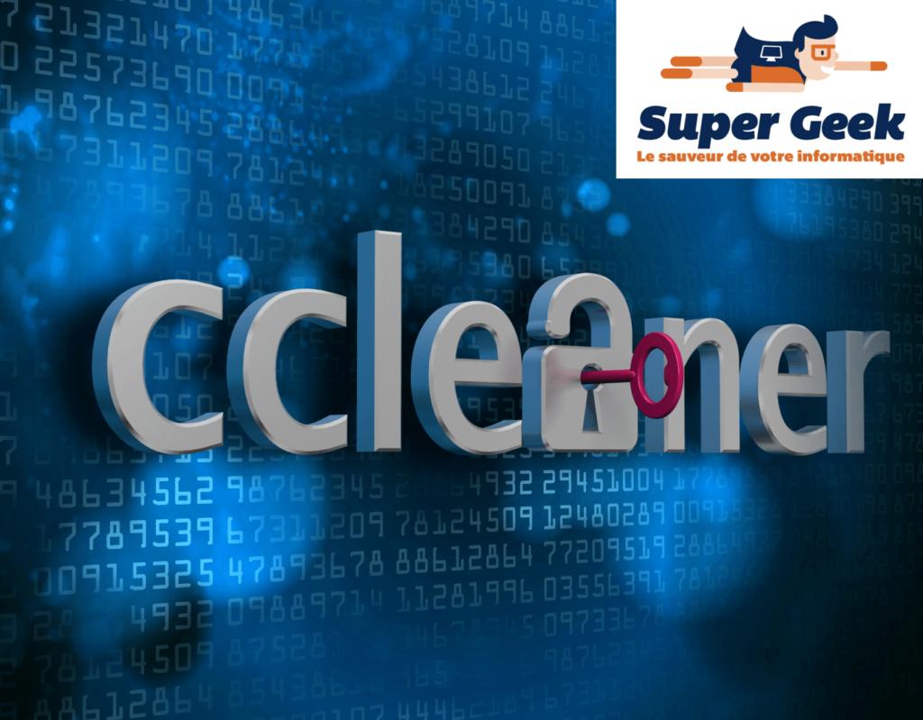 CCleaner - nettoyer son PC