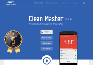 Clean Master - Mobile version