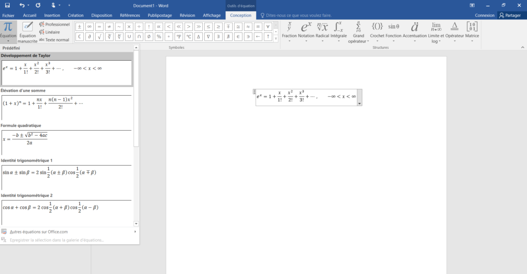 equation-manuscrite-word