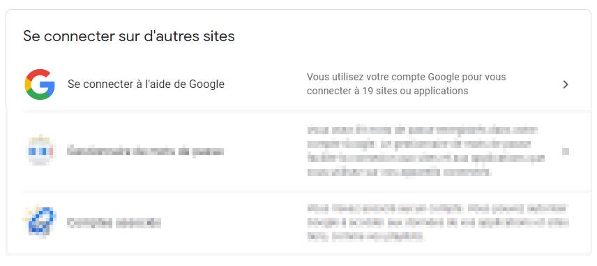 Se connecter à l'aide de Google