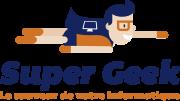 Logo Super Geek - Le sauveur de votre informatique